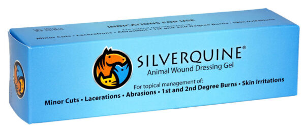 silverquine animal wound care supply